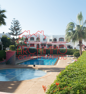 "image de propriété - Appartement avec jardin privatif, piscine à EL Jadida ""ANFA"""