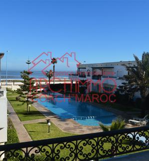 image de propriété - Appartement standing, dans une résidence avec piscine en face l'ocean à EL Jadida !
